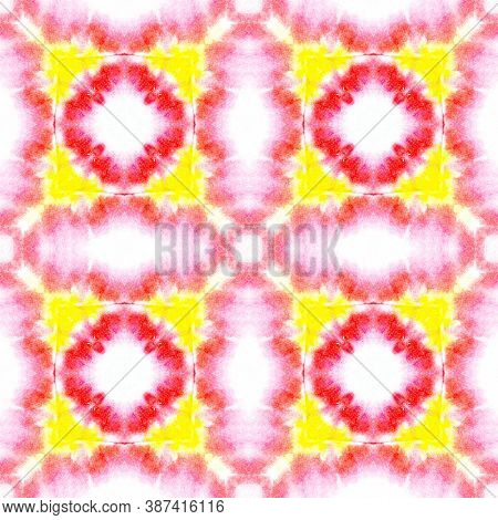 Traditional Seamless Motif Pattern. Victorian Or Damask Style. Red And White Colors. Artistic Abstra