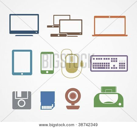 Digital stuff icons
