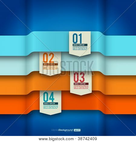 Modernes Design Layout | Infographik Elemente | EPS10 Vektor Vorlage
