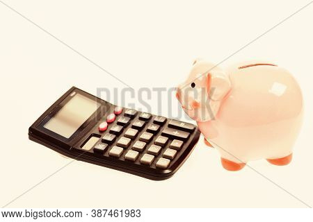 Bookkeeping. Financial Problem. Money Saving. Accounting And Payroll. Planning And Counting Budget.