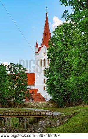 St. John The Baptist Lutheran Church In Cesis, Latvia