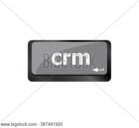 Crm Keyboard Keys. Laptop Button On Computer Pc