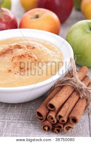 applesauce and cinnamon