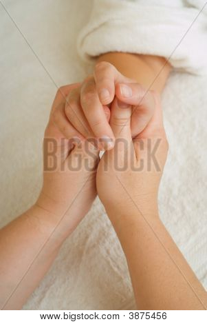 Beauty Therapy Manicure Massage