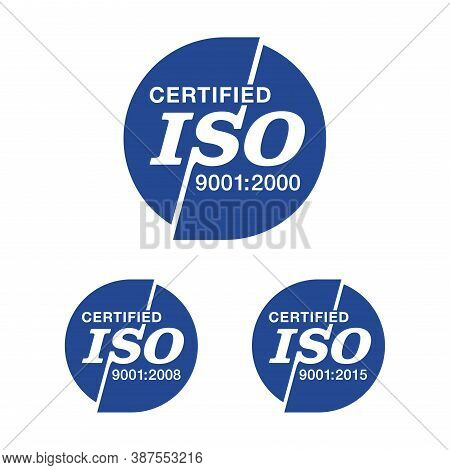 Iso 9001, 14001 And 22000 Standards Certified Stamp Collection - Quality Management System Internati