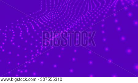 Abstract Molecural Background. Particles Wave. Science Background. Space Abstract. Cells Background.