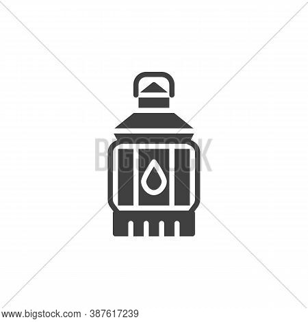 Lantern Vector Icon. Filled Flat Sign For Mobile Concept And Web Design. Lantern Light Glyph Icon. S