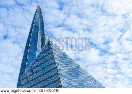 Saint Petersburg, Russia - 14 August, 2020: Lakhta Center Skyscraper In Saint Petersburg. Tallest In