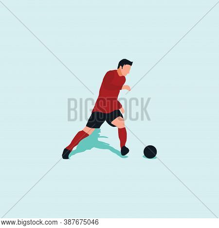 Left Footed Fast Dribbling - Shot, Dribble, Celebration And Move In Soccer