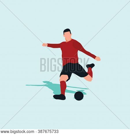 Left Footed Fast And Power Shot - Shot, Dribble, Celebration And Move In Soccer
