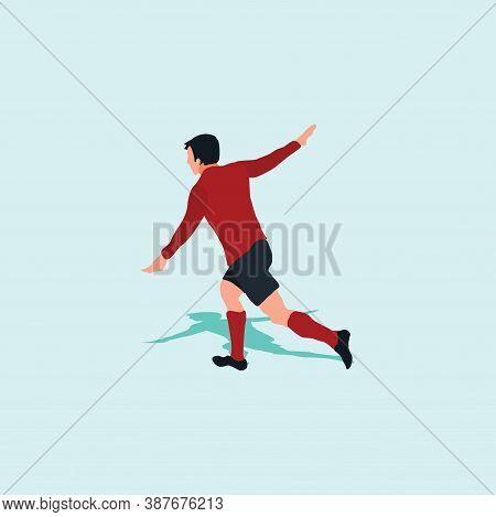 Aero Plane Goal Celebration - Soccer Goal Celebration - Shot, Dribble, Celebration And Move In Socce