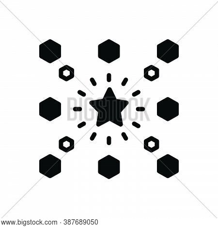 Black Solid Icon For Different Apart Various Other Differentiated Difficulties Difference Distinctio