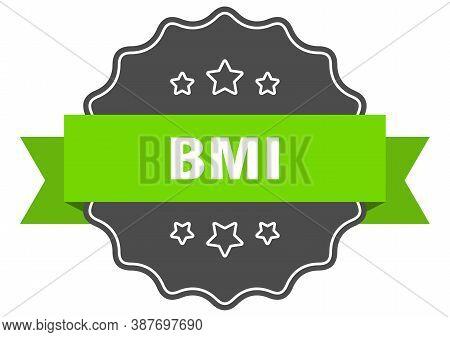 Bmi Label. Bmi Isolated Seal. Sticker. Sign