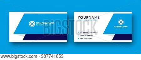 Business card . Business card design . Blue color business card ideas . Business cards Template . Modern Business card template design . editable business card design . double sided business card template . new business cards design collection