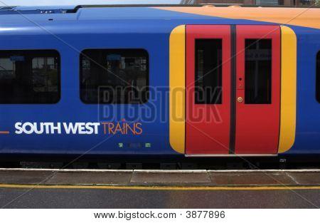 Train Carriage Colour