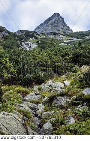 Mengusovska Valley Scenery, High Tatras Mountains, Slovak Republic. Hiking Theme. Seasonal Natural S