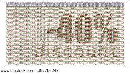 Discount Coupon -40% With The Guilloche Protection