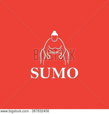 Sumo Logo Template Creative Design Vector, Icon