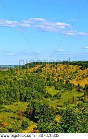Lysa Hora (bald Mountain) Is Located In Ukraine, Near The Village Of Lysky, Chernihiv Region