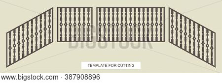 Stair Railings - Square, Rectangular And Diagonal (top To Bottom). A Gate Or Fence With Classic Balu