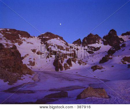 Sunset In Rila Mountain