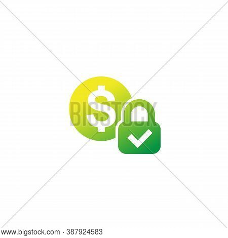 Fixed Cost, Price Vector Icon, Eps 10 File, Easy To Edit