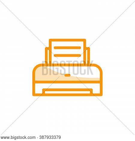 Illustration Vector Graphic Of Printer Icon Template