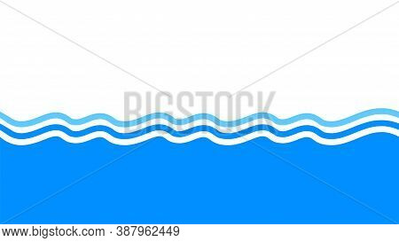 Water Wave Stripes, Water Waves Blue For Background, Water Ripples Light Blue, Ocean Sea Surface For