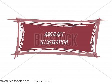 Abstract Avant-garde Pattern For Texture, Poster And Simple Backgrounds. Vector Illustration