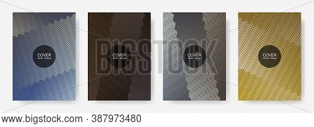 Gradient Zig Zag Stripes Texture Vector Backgrounds For   Catalog Covers. Geometric Zig Zag Gradient