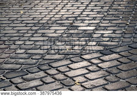 Grey Background With Paving Stones
