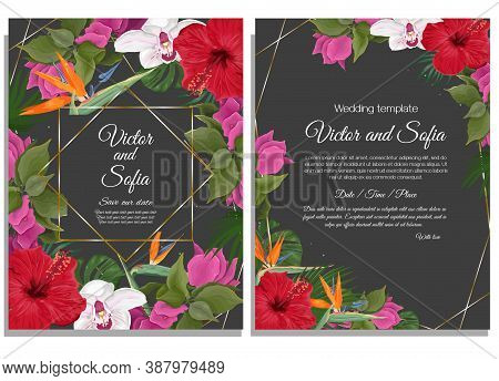 Wedding Invitation Vector Photo Free Trial Bigstock To get more templates about posters,flyers,brochures,card,mockup,logo,video,sound,ppt,word,please visit pikbest.com. bigstock