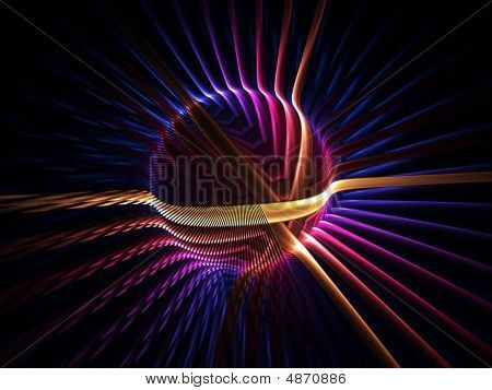 Colorful Energy Globe