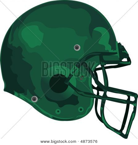 Gridiron helmet