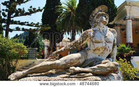 Statue of Achilles.