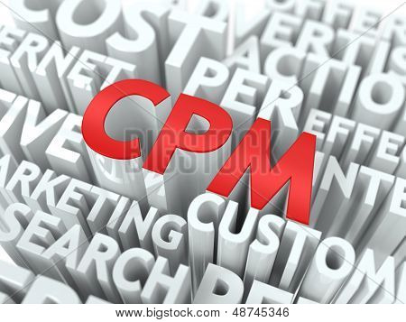 CPM. The Wordcloud Concept.