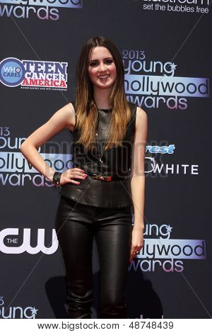 LOS ANGELES - AUG 1:  Laura Marano arrives at the 2013 Young Hollywood Awards at the Broad Stage on August 1, 2013 in Santa Monica, CA