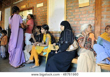 A clinic in Bhopal.