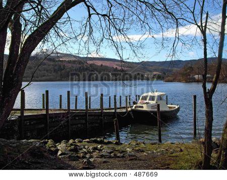 Boat At Derwent Water