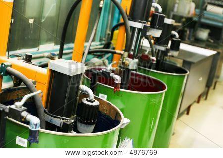 Part Of Offset Printing Machine