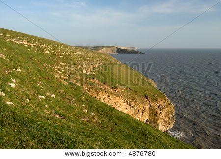 Cliffs At Southerndown
