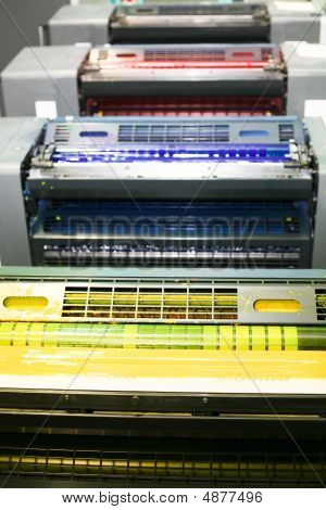 Part Of Offset Printing Machine