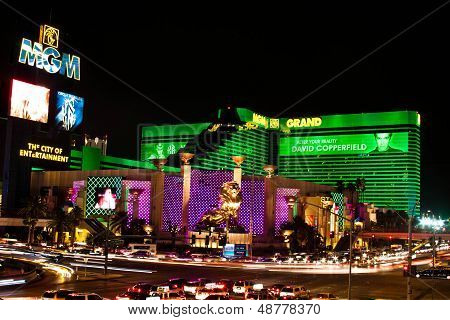 The MGM Grand Hotel & Casino in Las Vegas