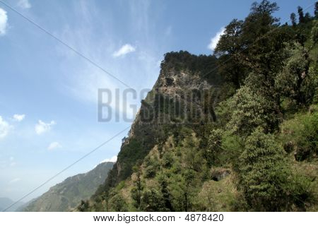 Sky Behind Mountain
