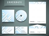 Professional corporate identity kit or business kit for your business includes CD Cover, Business Card, Envelope and Letter Head Designs. poster