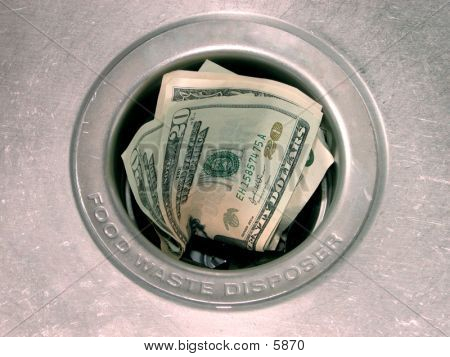 Money Down The Drain (1 Of 4)