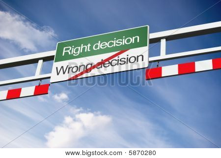 Right Decision Way
