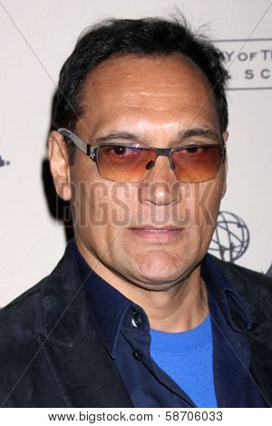"""Jimmy Smits at An Evening with """"Sons of Anarchy,"""" Leonard H. Goldenson Theater, North Hollywood, CA 10-25-13"""