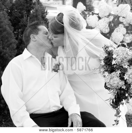 Just Married Kisses