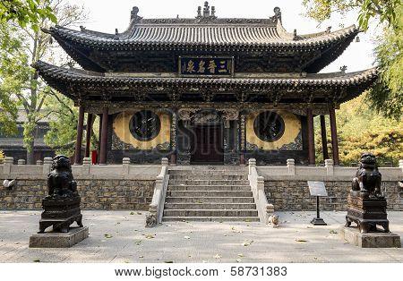 Ancient Buddhist Theatre in Shanxi China